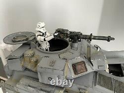 Custom Star Wars 6 Scale Assault Tank Mandalorian Figuarts Black Series Mafex