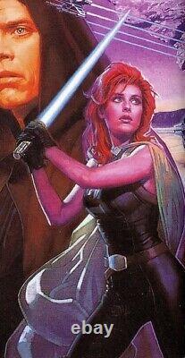 Custom Star Wars 6in Black Series Deluxe Mara Jade Skywalker jedi sith luke ben