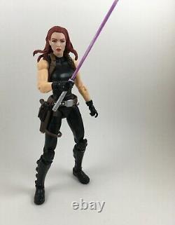 Custom Star Wars 6in Black Series Mara Jade Skywalker jedi sith luke emperor EU