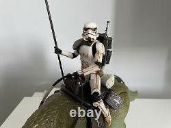 Custom Star Wars Black Series Dewback & Sandtrooper Mandalorian Figuarts Mafex
