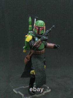 Custom Star Wars Boba Fett Fresh Paint 118 scale The Mandalorian