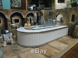 Custom Star Wars Cantina diorama