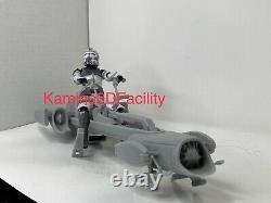 Custom Star Wars Clone Trooper BARC Speeder For Black Series 6 1/12