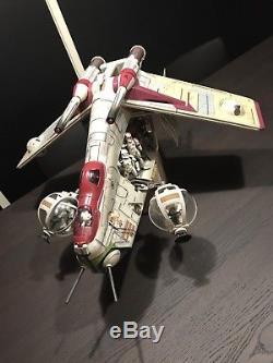 Custom Star Wars Clone Wars Clone Trooper Republic Gunship Toys R Us