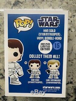 Custom Star Wars Funko POP! #15 Han Solo Stormtrooper Emerald City ECCC Limited