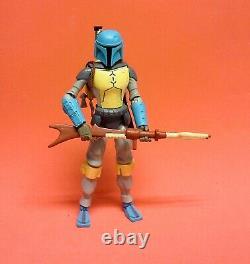 Custom Star Wars HOLIDAY SPECIAL BOBA FETT figure galaxy of adventures 5 inch