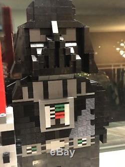 Custom Star Wars LEGO Movie Darth Vader sculpture statue model figure minifigure