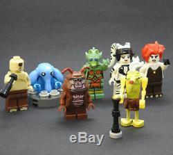 Custom Star Wars Max Rebo Band Jabba Palace set minifigures on lego bricks