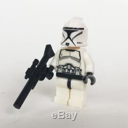 Custom Star Wars Republic Dropship with AT-OT Walker Lego compatible & clone lot