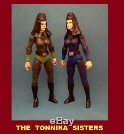 Custom Star Wars THE TONNIKA SISTERS Figures force clone rebels rogue cantina