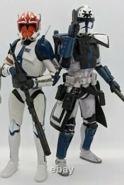 Custom Star Wars The Black Series Clone Captain Vaughn and Arc Trooper Jesse