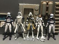 Custom Star Wars The Clone Wars 187th Clone Trooper Commander Airborne Snowtroop