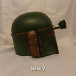 Custom Star Wars Weathered Boba Fett Mandalorian Adult Helmet Painted