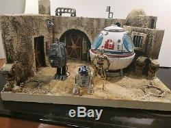 Custom Star Wars diorama(Cantina Enter)