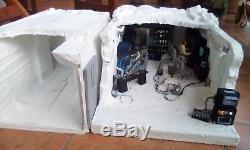 Custom Star Wars diorama -Echo Base control room & corridor
