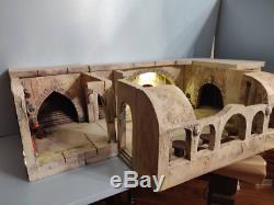 Custom Star Wars diorama Jabba palace