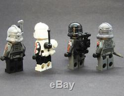 Custom Star Wars minifigures Bad Batch Clone Trooper on lego bricks
