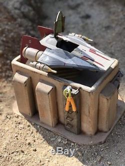 Custom Tatooine Domed Merchant Building Playset Diorama