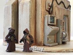 Custom Tatooine Domed Merchant Building Playset Diorama Star Wars 118 3.75