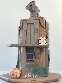 Custom Tatooine Radar Tower Outpost Playset Diorama Star Wars 118 3.75