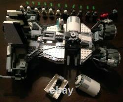 Custom brick Star Wars Jedi turned Imperial Defender class ship With11 Mini-Figs