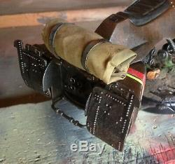 Custom hand painted with base Star Wars Speeder bike 1/6 Sideshow Hot Toys 2ft