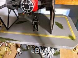 Custom star wars 2020 vintage style imperial landing platform 3.75 inch scale