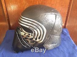 Customised Kylo Ren Star Wars Black Series Helmet 501st Approved Prop Full Mod