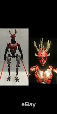 Cyber Darth Maul Custom 1/6 Figure Star Wars