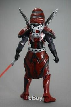 DARTH MARR custom Star Wars action figure 3.75 Old Republic Rem. Hood