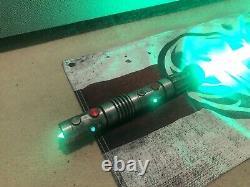 Darth Maul OneReplicas Custom Light Saber Proffie pixel Crystal Chamber pommel