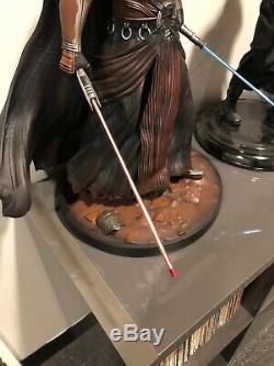 Darth Revan 1/4 Custom Statue Nt Sideshow Collectibles Premium Format Star Wars