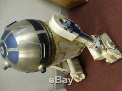 Deagostini Build Your Own R2D2. Star Wars R2D2 Robot Completed with CUSTOM PAINT