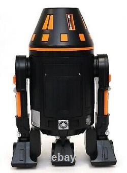 Disney Star Wars Galaxy's Edge Droid Depot Orange Black 2 Custom R2 Astromech