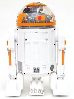 Disney Star Wars Galaxy's Edge Droid Depot Orange Clear 2 Custom R2 Astromech