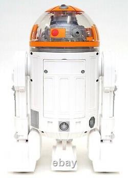 Disney Star Wars Galaxy's Edge Droid Depot Orange Clear Custom R2 Astromech