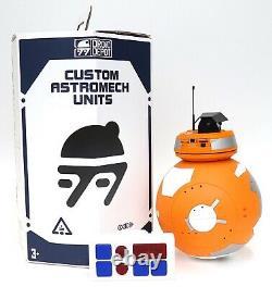 Disney Star Wars Galaxy's Edge Droid Depot Orange Custom BB Astromech
