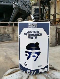 Disneyland Star Wars Galaxy's Edge Opening Day Custom RC BB Droid Unit Bundle