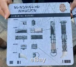 Disneyland Star Wars Galaxy's Edge Savi's Workshop Custom Lightsaber YOU PICK