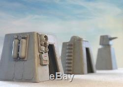 Empire Toy Works Custom 3pc Modular Base Playset Diorama Star Wars 118 3.75