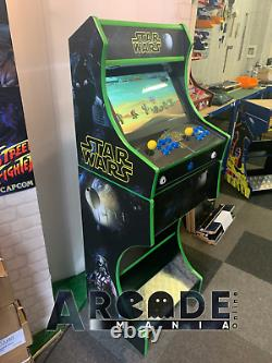 Full Size Custom Arcade Machine Star Wars themed 3,188 Classic Games