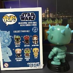 Funko Pop! CUSTOM Star Wars Holographic Darth Maul (Read Description)