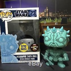 Funko Pop! Star Wars Holographic Darth Maul CUSTOM