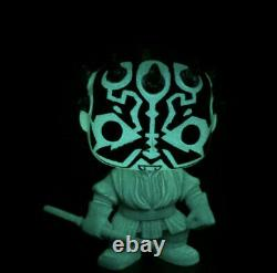 Funko Pop! Star Wars Holographic Darth Maul CUSTOM! Glow GITD Rare Hard Stack