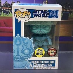 Funko Pop! Star Wars Holographic Darth Maul CUSTOM Read Description