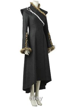 Game of Thrones Daenerys Targary Full Set Uniform Cosplay Costume Halloween Xmas