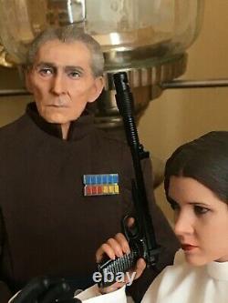 Grand Moff Tarkin Custom Star Wars for Hot Toys Display 12 1/6 Scale
