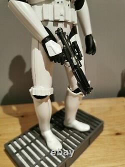 HOT TOYS STAR WARS STORMTROOPER 1/6 first release with custom Han Solo Head