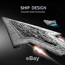 HUGE STAR WARS 7588pcs Executor Class Dreadnought Collector MOC 10221 Custom Set