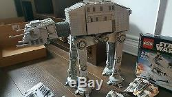 HUGE lego star wars Hoth collection MOC 220 minifigures Custom At-At custom At-S